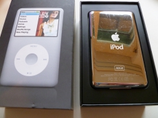 Apple iPod Classic 80 GB silber 6. Generation in Topzustand