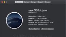 Apple MacBook Pro 15 (2017) mit Touchbar, 16 GB RAM, 1 TB SSD