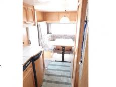 Wir vermieten einen Wohnwagen , Mietwohnwagen W2