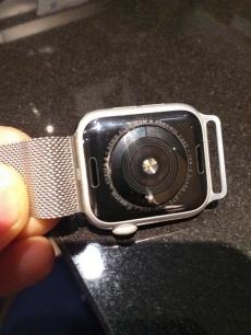 Apple Watch Series 4 (GPS, 44 mm) - Silberaluminium
