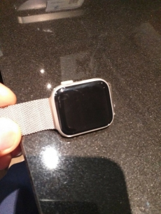 Apple Watch Series 4 (GPS, 44 mm) - Silberaluminium