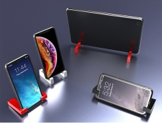 Magnetic Mini Phone & Tablet Holder for iPhone Samsung etc.