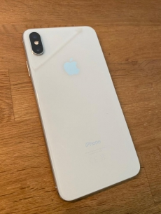Iphone XS MAX 256GB Silver + 2 Top Case