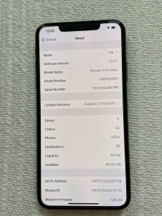 Apple iPhone 11 Pro Max - 64 GB - Space Grey