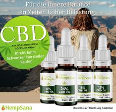 CBD Öl direkt vom Schweizer Qualitätsführer.