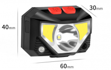 FENEK . SHOP - vollumfangreiche Sensor-Stirnlampe