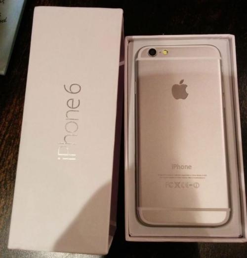 Apple Iphone 6 64 GB Silber