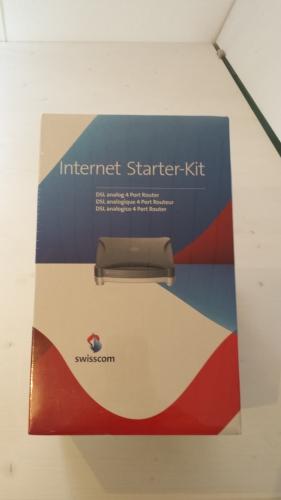 Swisscom-DSL 4 Port Analog-Router