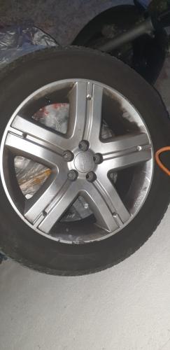 Michelin Pneus inkl. Subaru Forester 2011 Felgen