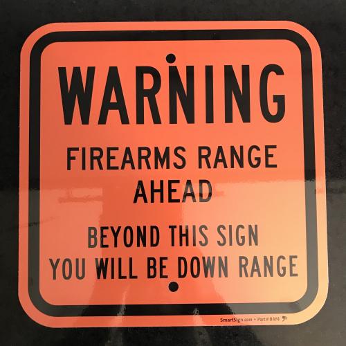 >RAR: TOP AluSchild FIRING RANGE Schiessanlage aus USA !